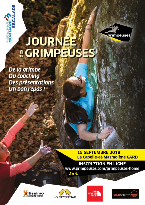 Grimpeuses: un raduno per sole arrampicatrici